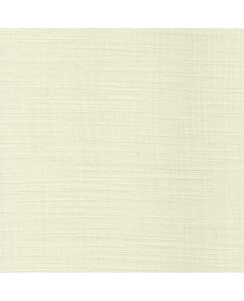 Cream Solid Color Cotton Curtain( set of 2)