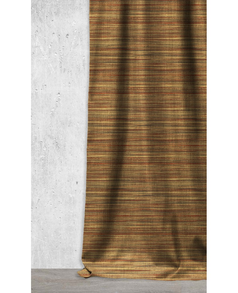 Brown Weave Design Printed  AZTEC-17 Upholstery fabric